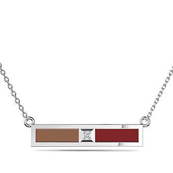 Vermoord 'apos; s Creed Odyssey diamanten halsketting tijdens in Sterling Zilver ontwerp door BIXLER