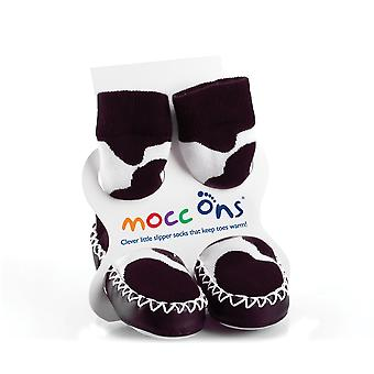 MoccOns - Moccasin Style Slipper Socks! - 18-24m