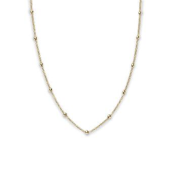 Rosefield JDCHG-J057 necklace and pendant - Iggy Ras Necklace Collection from The Yellow Gold Laiton Women's Neck