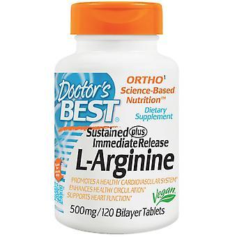 L-arginine 500 mg (120 bilayer tabletten)-arts ' s beste