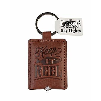 History & Heraldry Keyring - Fishing Key Light