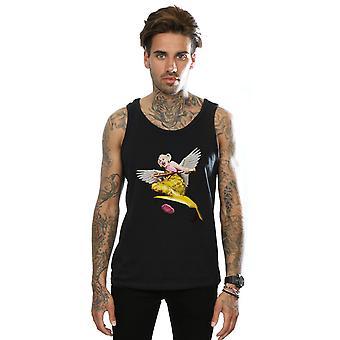 DC Comics Men's Birds Of Prey Harley Quinn Gum Vest