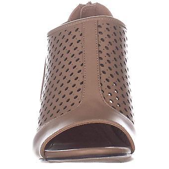 Style & Co. Womens Helaine Peep Toe Casual Mule Sandals