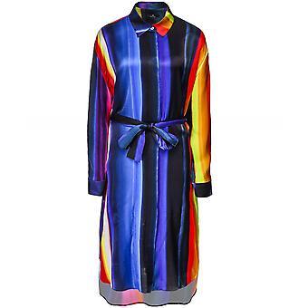 Paul Smith Stripe Satin Shirt Dress