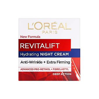 L'Oreal Revitalift NIGHT Anti Wrinkle Firm Cream 50ml Intensive Action