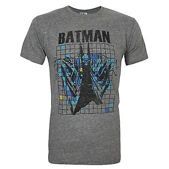 Junk Food Batman Grid Men's T-Shirt