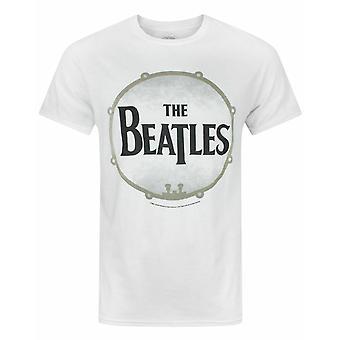 The Beatles Drumskin Miesten's T-paita