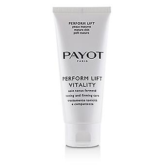 Payot Udfør løfte vitalitet - Toning & Opstøtning Care (salon Størrelse) 100ml/3.3oz