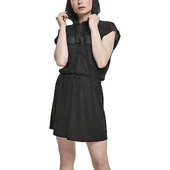 Urban Classics Ladies - MODAL Hoody dress black
