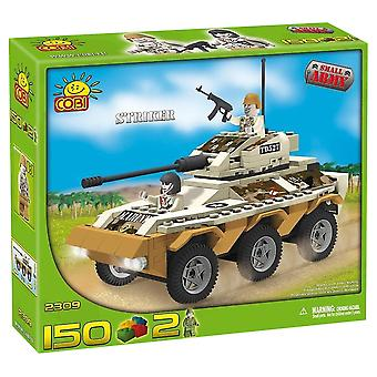 Small Army 150pc Striker Transporter Tnk Mltry Veh Cstrct St