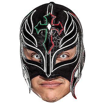 रे Mysterio WWE पहलवान आधिकारिक एकल 2D कार्ड पार्टी फैंसी ड्रेस मास्क