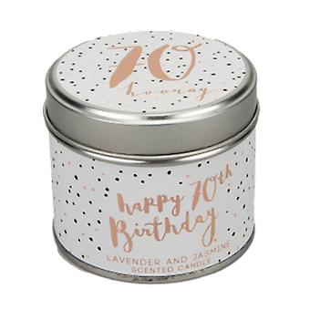 Luxe 70th Birthday Scented Candle| Gifts from Handpicked