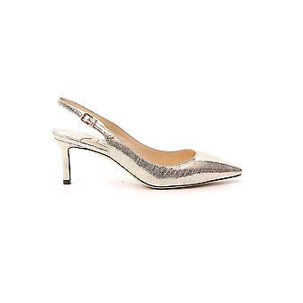 Jimmy Choo Erin60mztlightgold Frauen's Gold Leder Sandalen