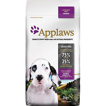 Applaws Food for Puppies of Big Breed Chicken (Dogs , Dog Food , Dry Food)