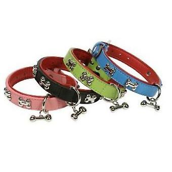 Doggy Things BONES COLLAR AZUL TALLA 70 CM/28