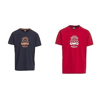 Overtreding Mens Heron Casual Short Sleeve T-Shirt
