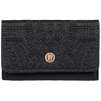 Roxy Crazy Diamond Faux Leather Wallet in Anthracite