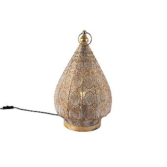 QAZQA Oriental table lamp gold 28 cm - Mowgli