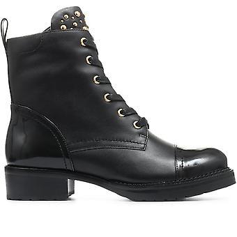 Jones bootmaker naisten eloise nasta pitsi-up biker boot
