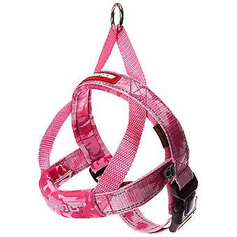 Ezydog Harnais Quick Fit Pink Camu (Chiens , Colliers, laisses et harnais , Harnais)