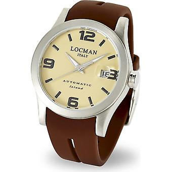 LOCMAN - Wristwatch - Men - 0615V07-00SAKSIN - ISLAND ONLY TIME AUTOMATIC
