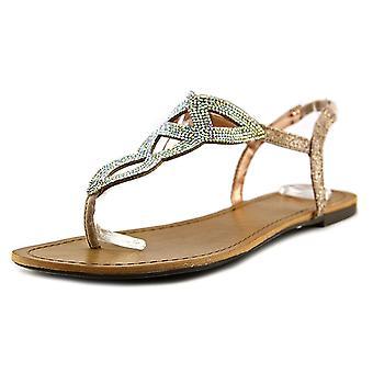 Material Girl naisten Swirlz Split rento Slingback sandaalit