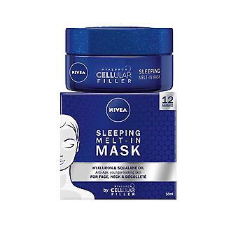 Nivea Sleeping Melt in Face Mask 50ml Hyaluron Anti Age