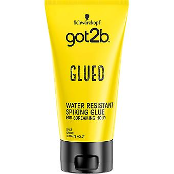 Schwarzkopf Got2b Cheveux Collés Colle Spiking Glue Résistance Ultime Hold
