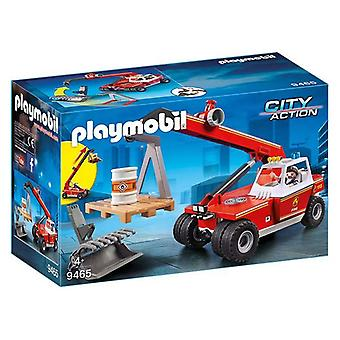 Crane Lorry City Acțiune Playmobil 9465