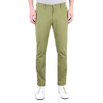 NN07 Marco 1400 Green Slim Fit Chinos