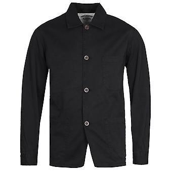 Portuguese Flannel Labura Black Overshirt