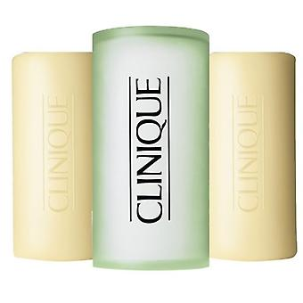 Clinique 3 Soaps with Soap Dish 150 gr