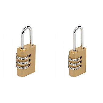 Sterling Light Security 3-Dial Combination Padlock