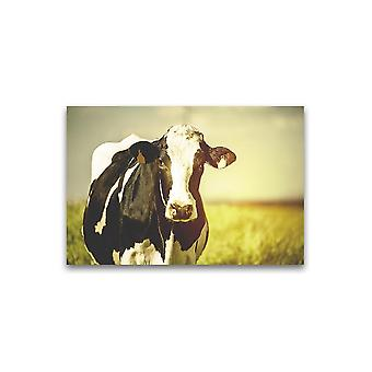 Dairy Cow In Countryside  Poster -Image by Shutterstock