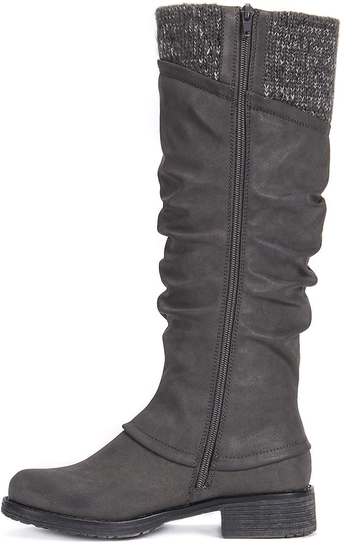 MUK LUKS Women's Bianca Boots Knee High 7tZVG