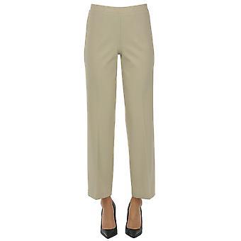 One Ezgl335030 Women's Beige Viscose Pants