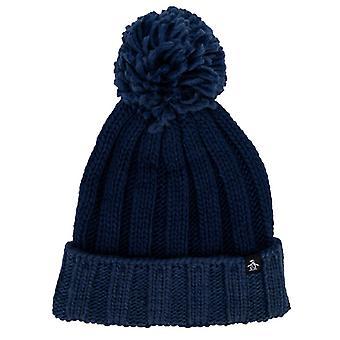Accessories Original Penguin Hills Bobble Hat in Blue