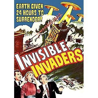 Usynlig Invaders (1959) [DVD] USA importerer