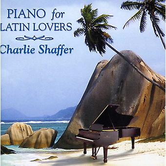 Charlie Shaffer - Piano for Latin Lovers [CD] USA import