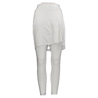 Legacy Women's Leggings Capri Length Skirted White A253126