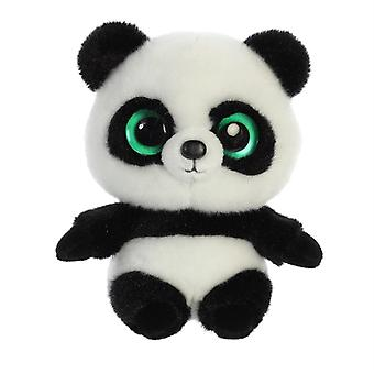 YooHoo Ring Ring Panda Soft Toy 12cm