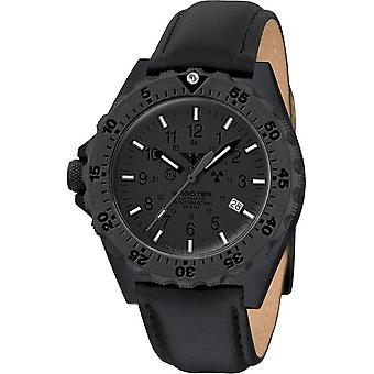 KHS - Men's Watch - Shooter MKII Automatic XTAC Leather Strap- KHS. SH2AXTHC. L