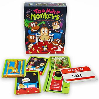 Games - Ceaco Gamewright - Too Many Monkeys Kids New Toys 241