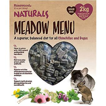 Naturals Meadow Meniu Chinchilla/Degu - 2kg