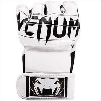Venum undisputed 2.0 leather mma fight gloves white