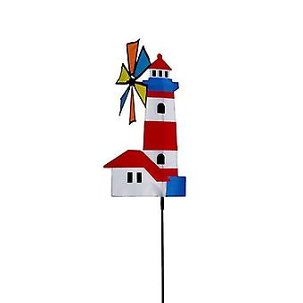 3d House Windmill Wind Spinner Whirligig Pinwheel Yard Garden Decor Outdoor