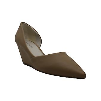 MIA Amore Womens Monaa Leather Round Toe Loafers