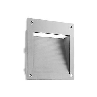 LED Outdoor Large Verzonken Muur lichtgrijze IP65