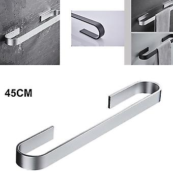 25-45cm Self Adhesive Towel Holder Also Suitable For Toilet Roll Paper Hanging