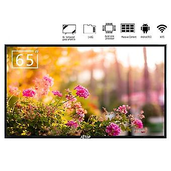 4k Uhd 65 Inch Led Television Flat Screen Smart With Tempered Glass